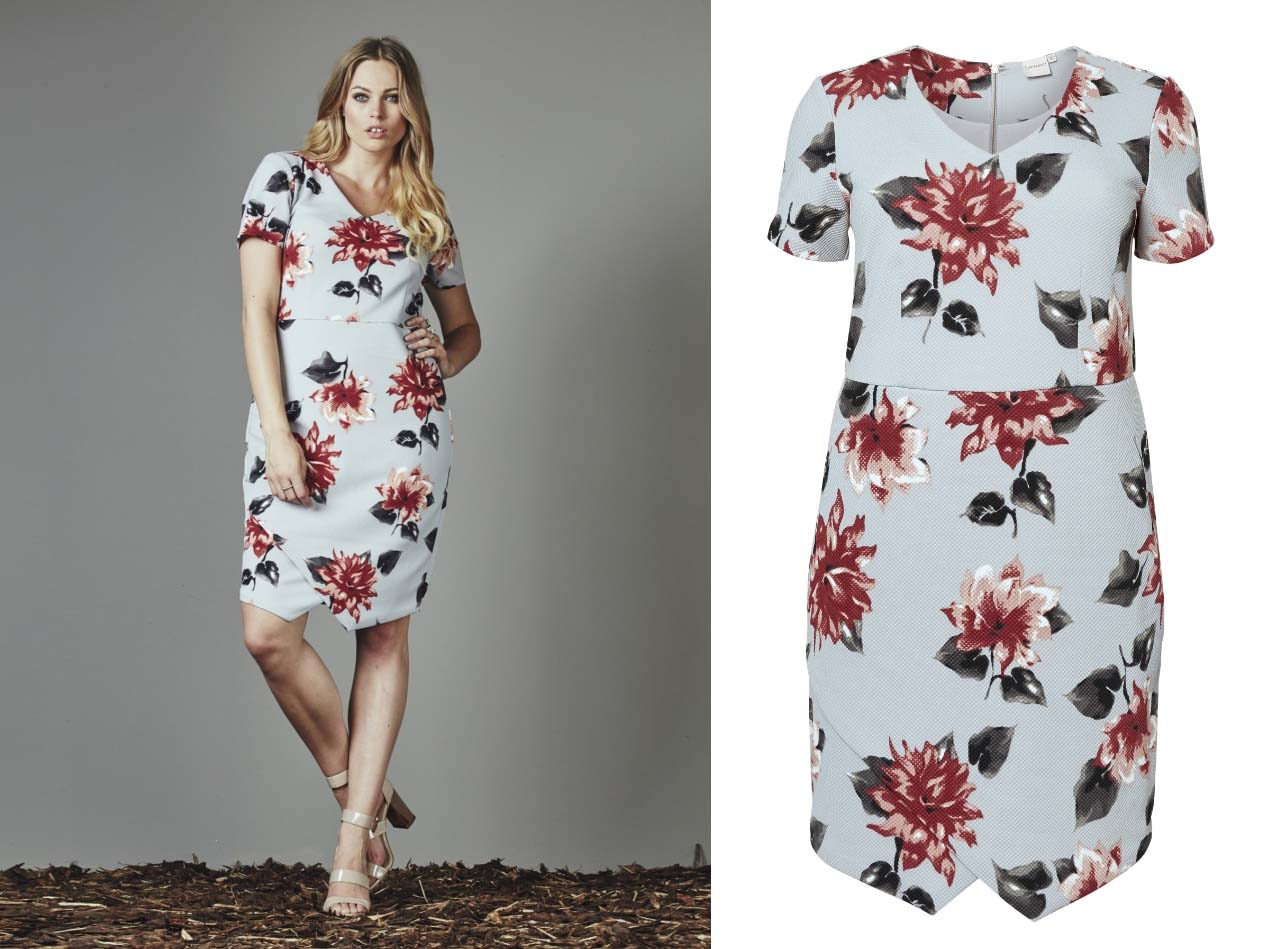 Simply Be Junarose Floral Dress