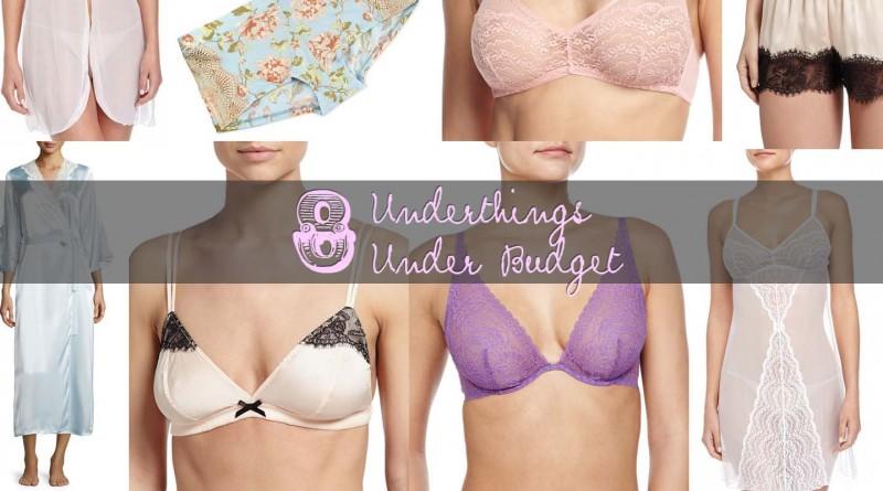 8 Underthings Lingerie Under Budget