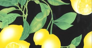 Gertie Collection Black Lemons