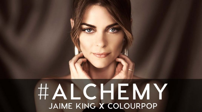Jaime King for Colourpop Cosmetics