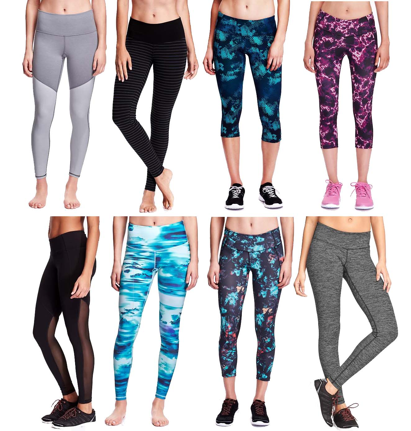 Shop Old Navy's Jersey Leggings for Baby: Elasticized waist with twill-tape tie.,Cuffed leg openings.,Soft, medium-weight jersey.,Colors and patterns vary.