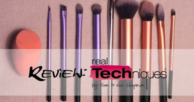 Real Techniques Brushes Review feat