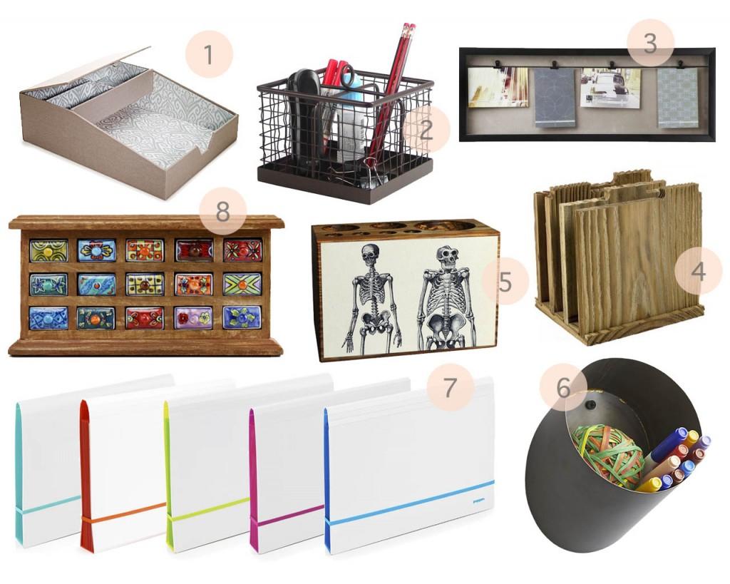 Storage for Home Office Desk