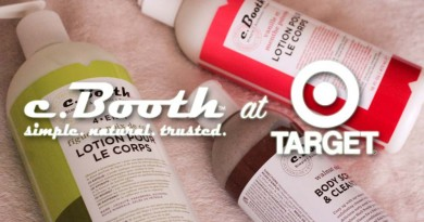 c.Booth at Target - Body Lotion Review Body Scrub Review