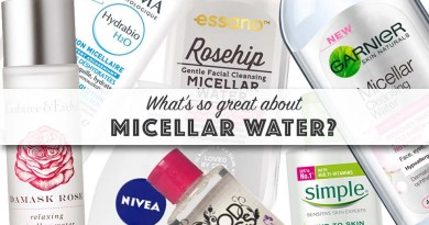 Micellar Water Skincare Beauty Facts