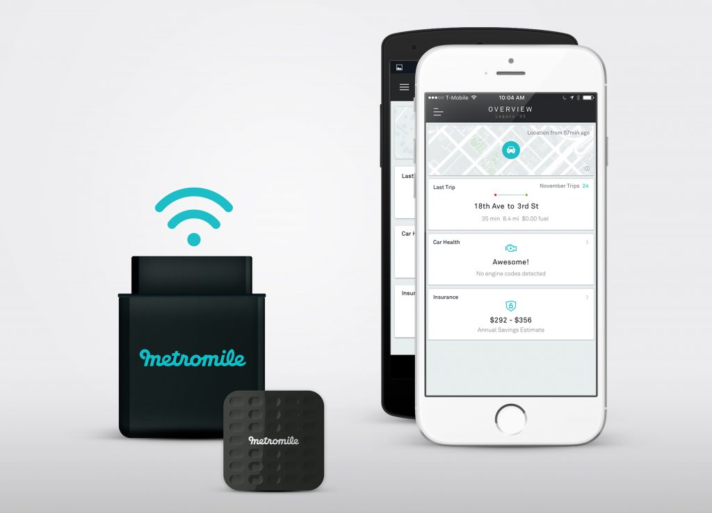Metromile Pulse Tag for Auto Monitoring