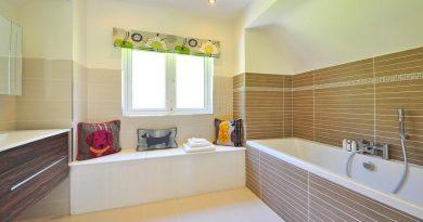 Beautiful Bathroom Tile Tub Wood