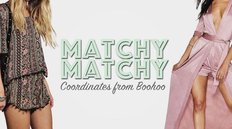 Boohoo Two Piece Coordinate Sets Affordable Fashion