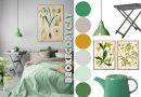 Style Remake: Minty Botanical Bedroom