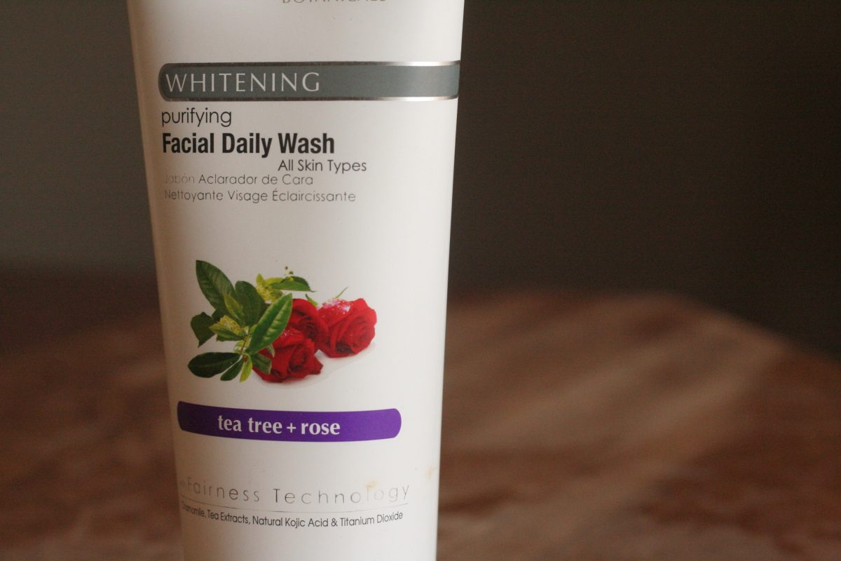 rose rosehip skincare gel cleanser natural beauty