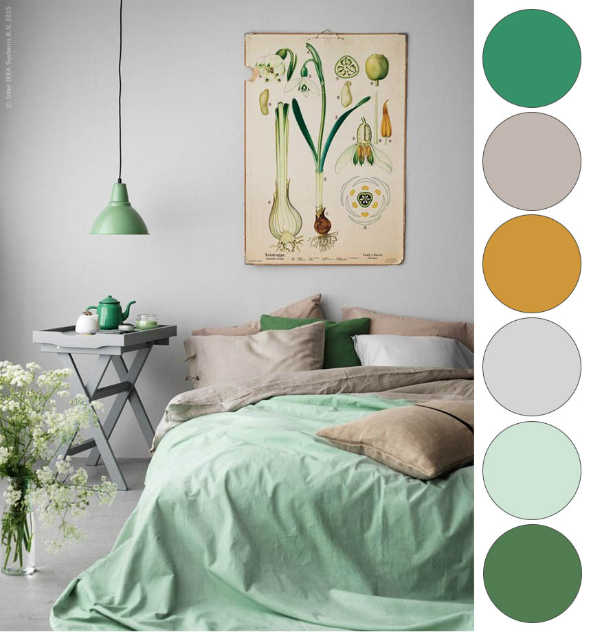 color palette ideas for bedroom style remake minty botanical bedroom and beautiful 18497