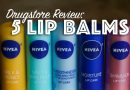Nivea Lip Balms: 5 in 5 Days + A Giveaway
