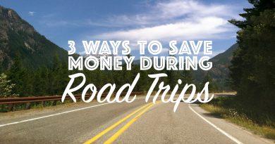 Saving Money During Road Trips