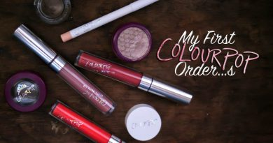 Colourpop Review: My First Experience (& Swatches)