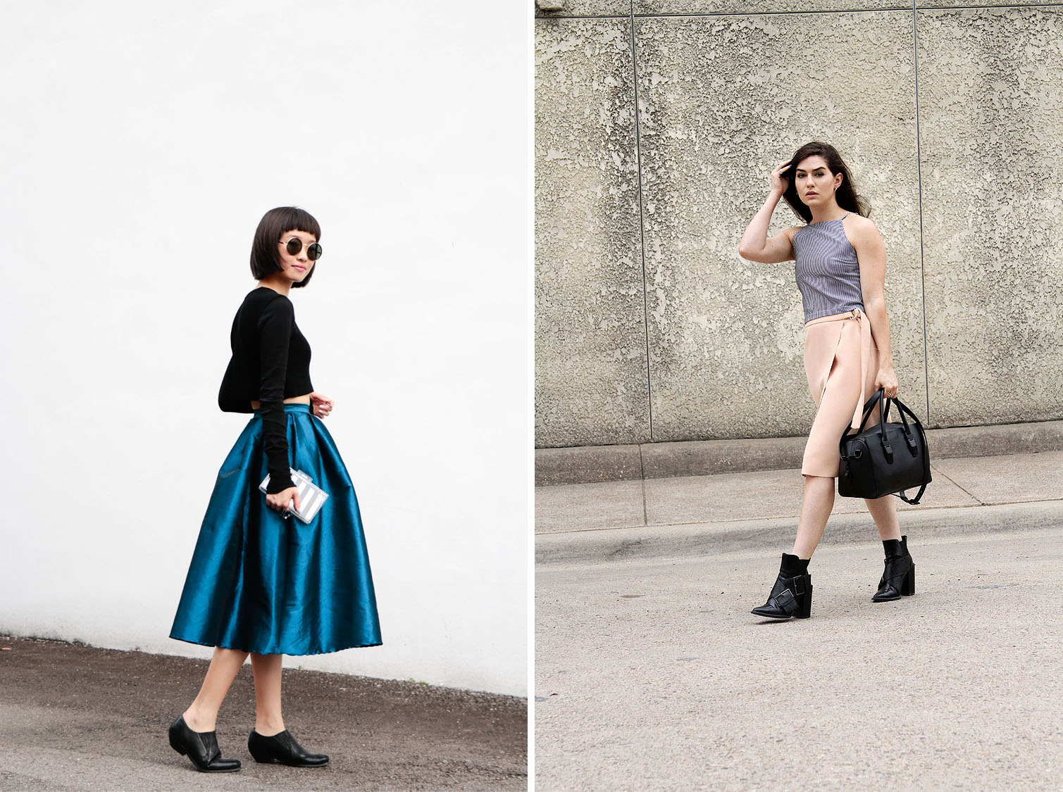 Crop Top and Midi Skirt Umilali Fringe of the Cro