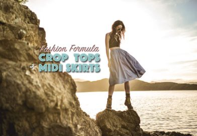 Fashion Formula: Crop Tops + Midi Skirts