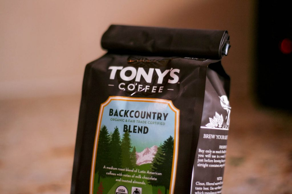 cold brew coffee tony's fair trade seattle organic beans