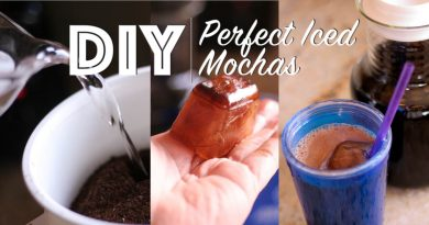 coffee diy recipe for chocolate iced mochas
