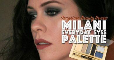 Milani Smokey Essentials Palette Makeup Look feat