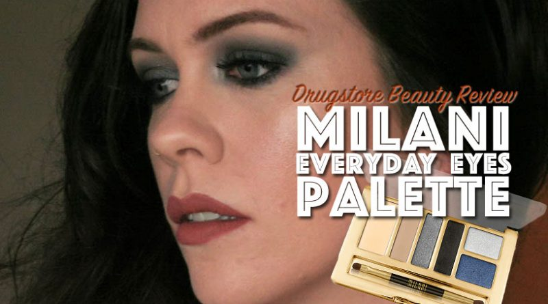 Milani Smokey Essentials Palette Makeup Look feat