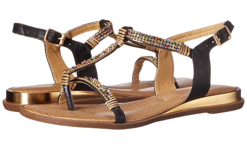 PAtrizia Anouk Sandals Black