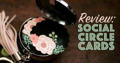 customizable business cards case online social circle cards unique shape cute designs