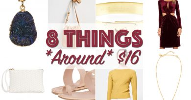8 Things Around 16 Dollars feat