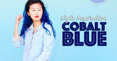 Cobalt Blue Style Fashion Inspiration Lookbook