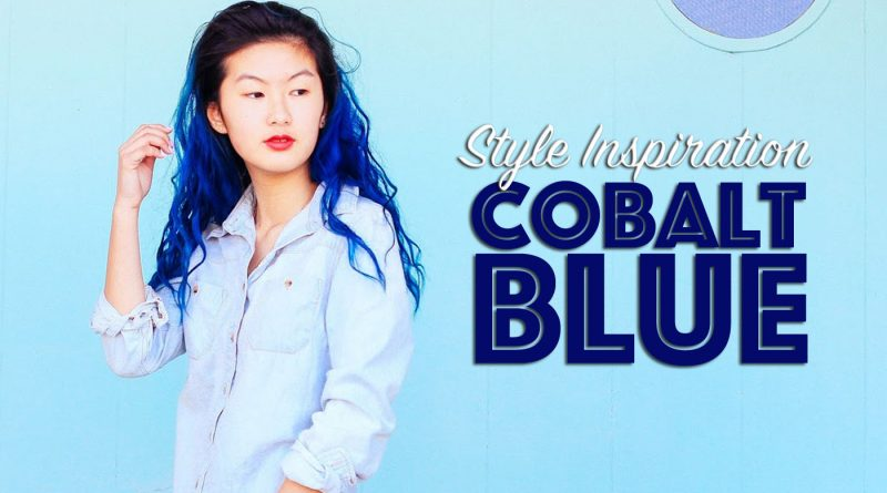 Cobalt Blue Style Fashion Inspiration Lookbook
