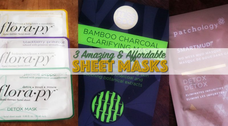 3 Innovative Sheet Masks You Have to Try!