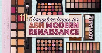 11 Drugstore Modern Renaissance Dupes Palettes
