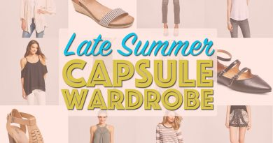 Target New Arrivals Capsule Wardrobe feat