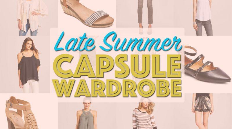 Late Summer Capsule Wardrobe from Target