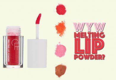 Would You Wear: Melting Lip Powder?