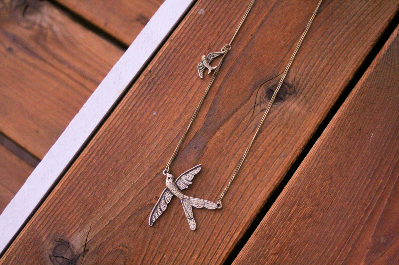 Happiness Boutique Bird Necklace-4