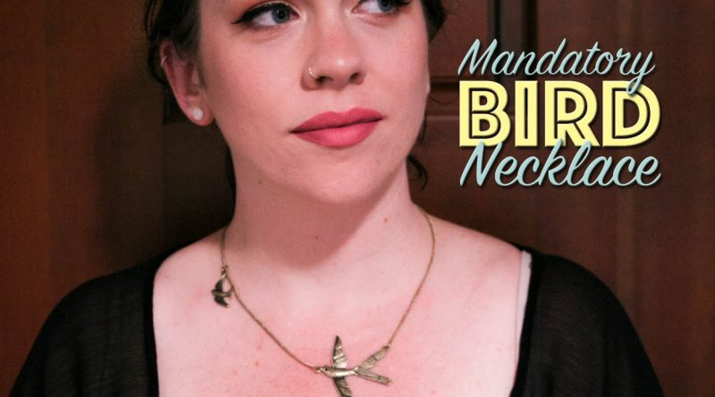 Happiness Boutique Bird Necklace feat