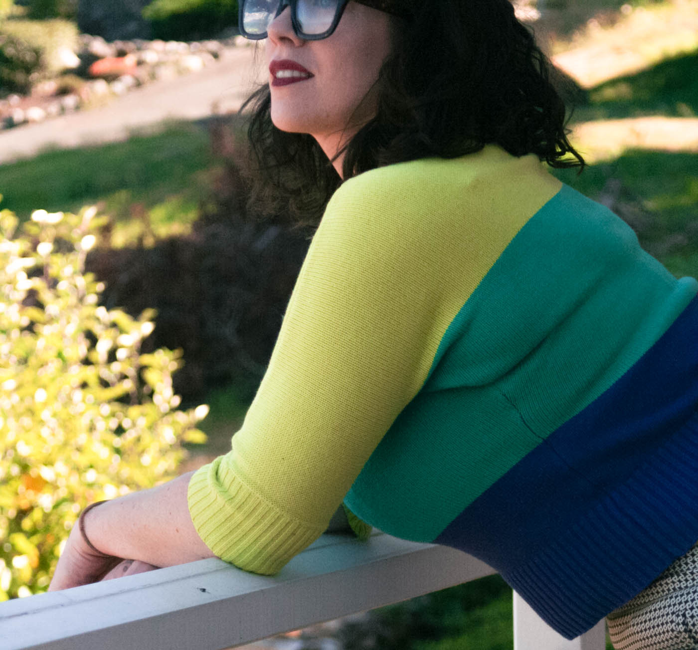 Schoola Green Secondhand Sweater-8