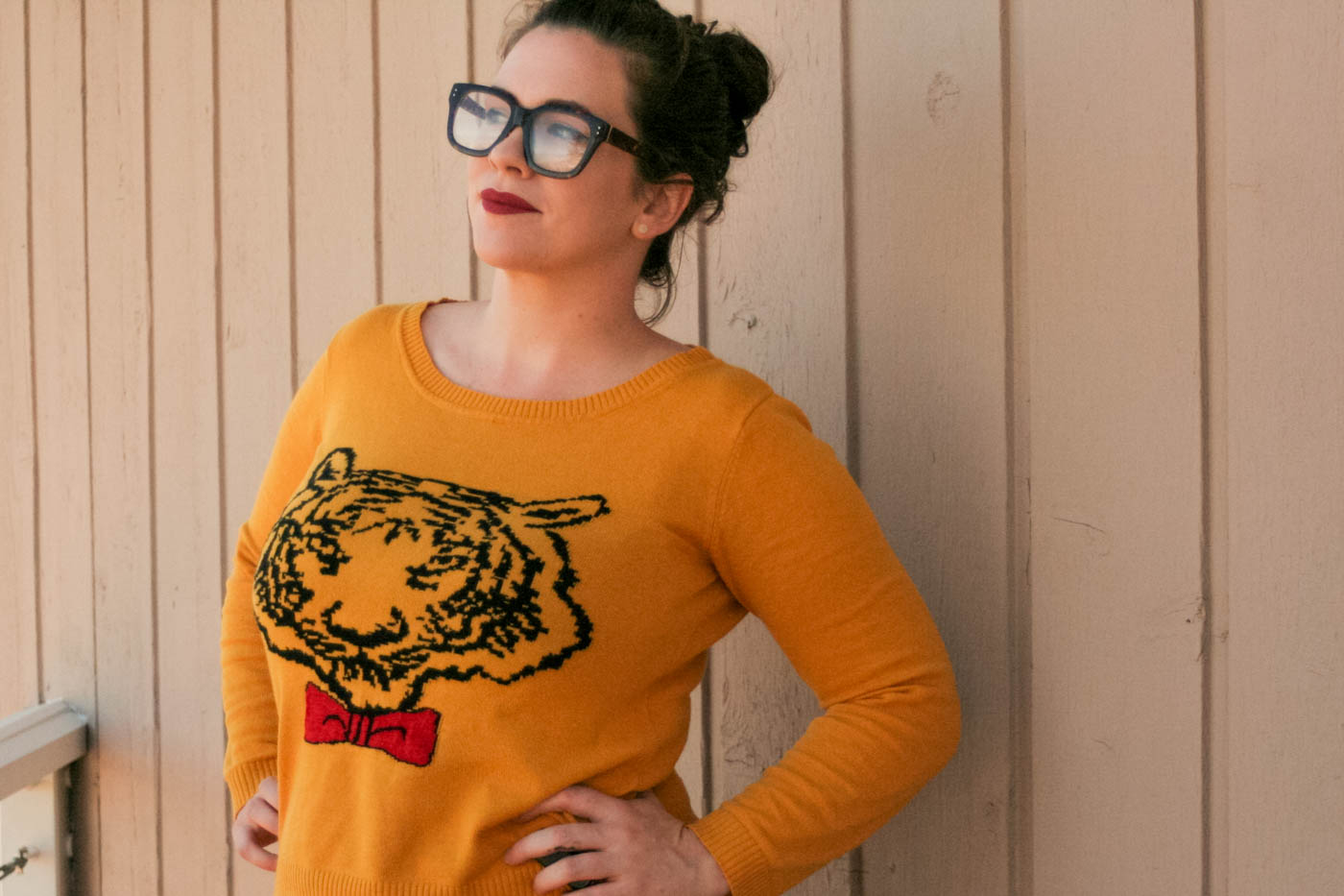 Schoola Tiger Sweater