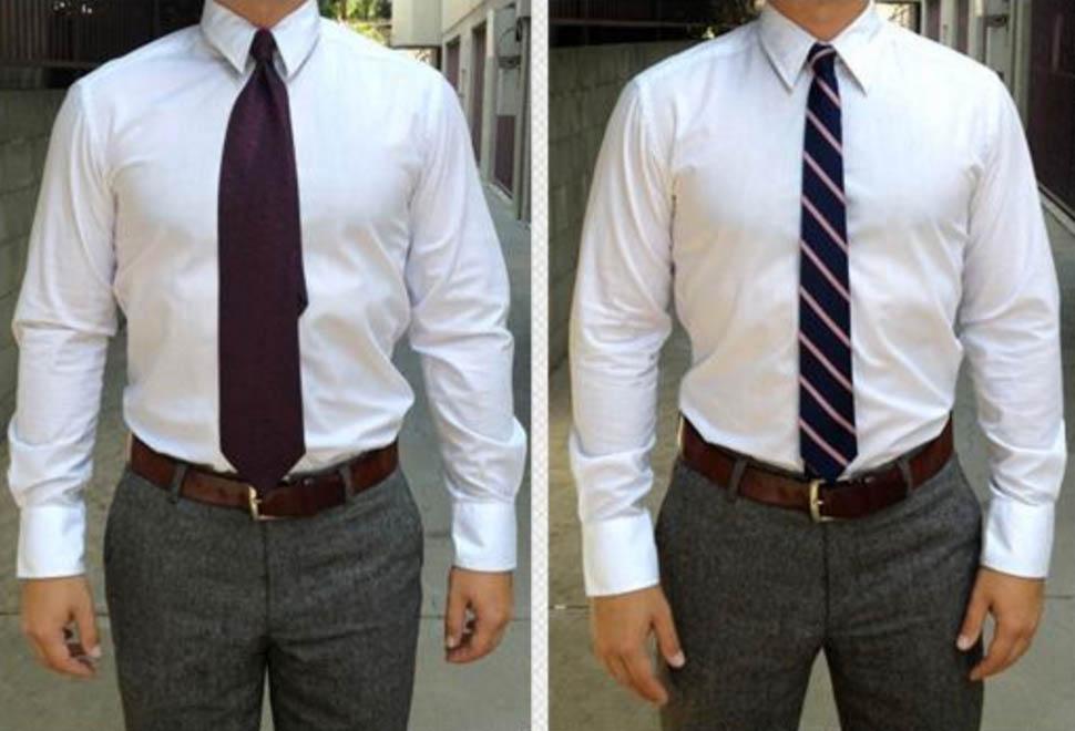 skinny tie vs wide tie