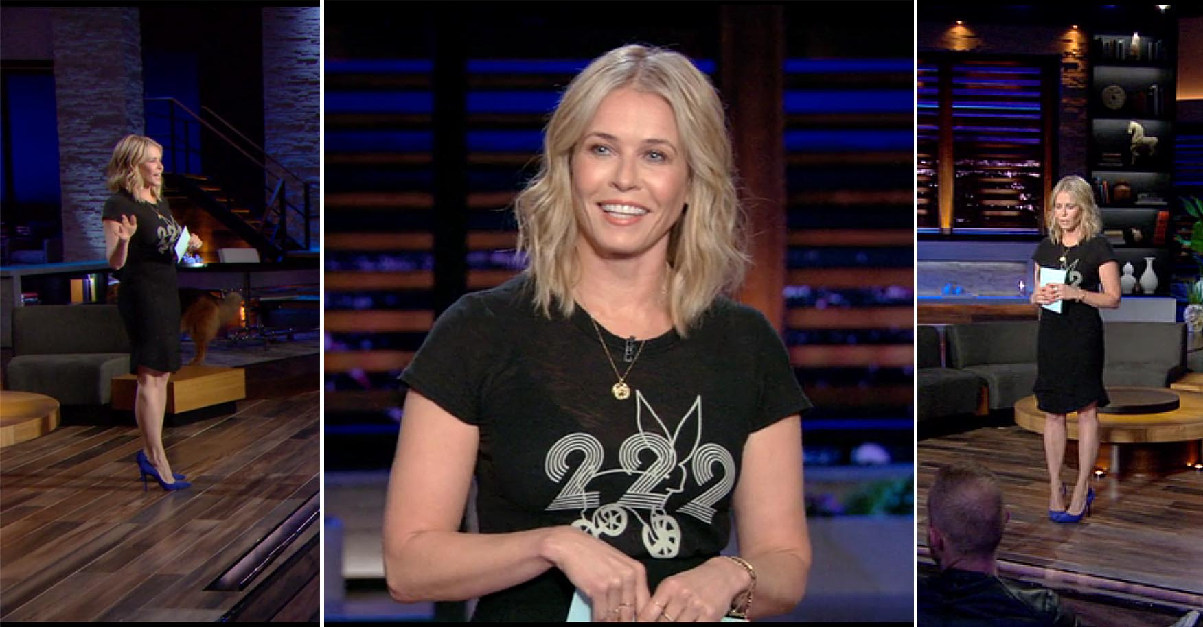 Chelsea Handler's Netflix Style: 222 Bunny on Rollerskates Tee