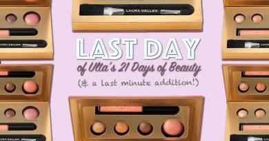 Last Day of Ultas 21 Days of Beauty Sale!
