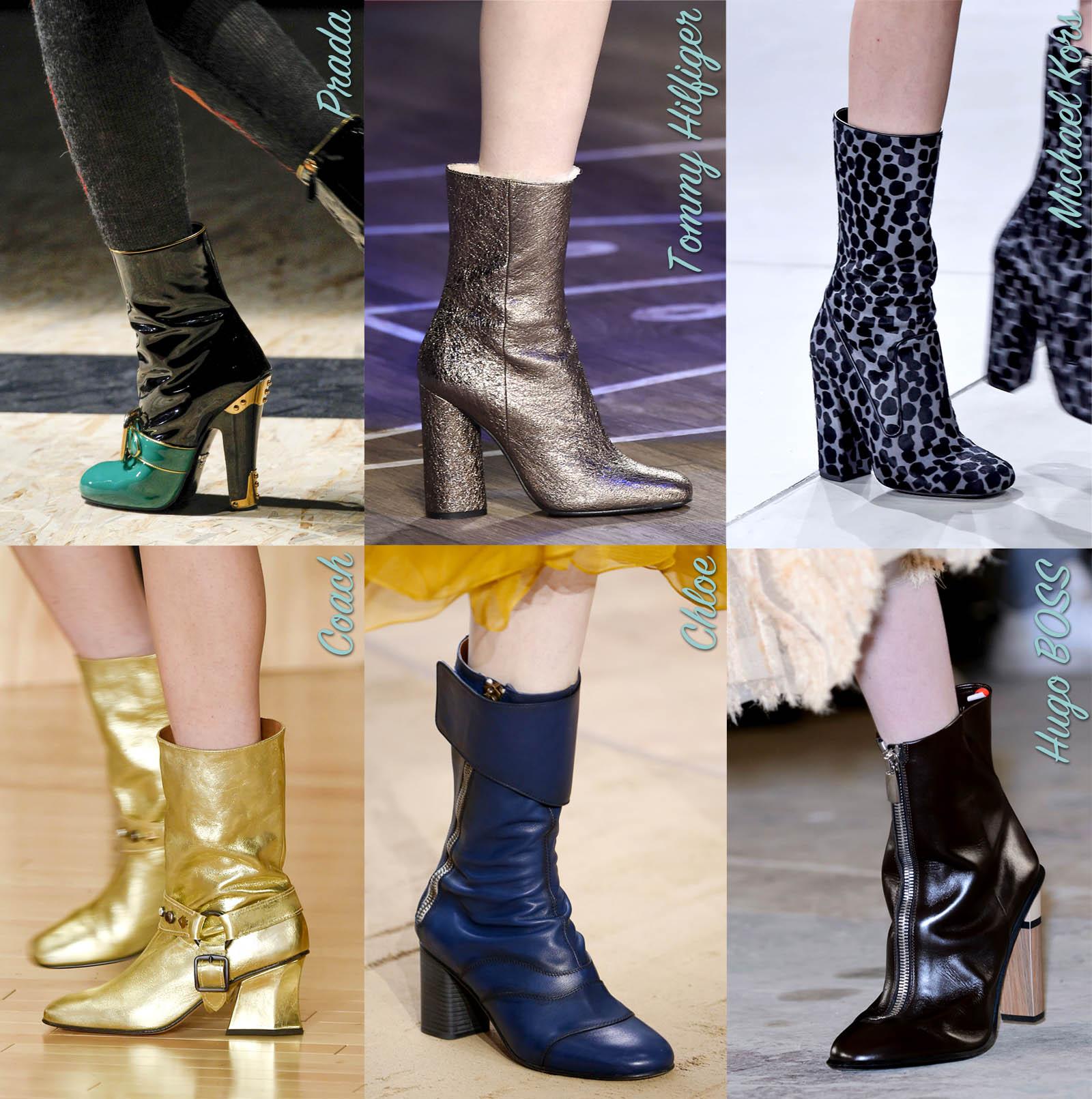 boots heels fall boot trends winter 2016 designer accessories get the look