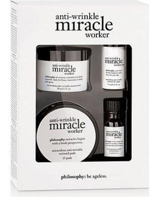 Philosophy Miracle Worker Trial Sample Kit