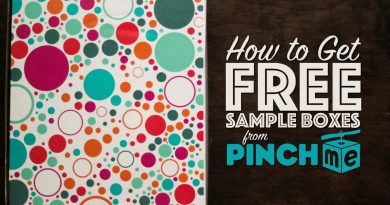 PINCHme Free Sample Boxes to Review