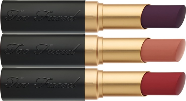 Too Faced La Matte Lipsticks