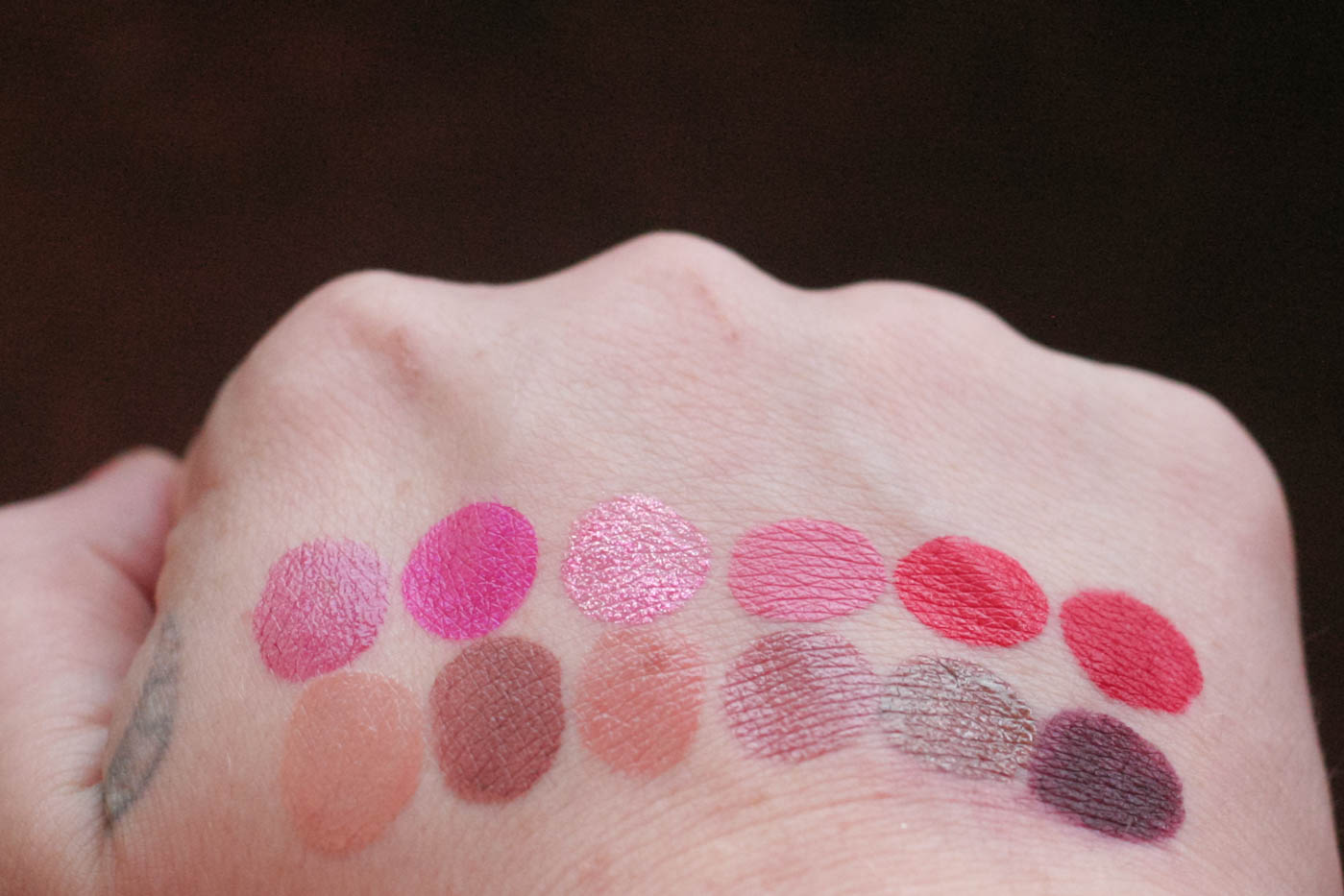 urban decay vice lipstick palette blackmail ulta beauty limited edition fall holiday 2016 gift makeup swatches