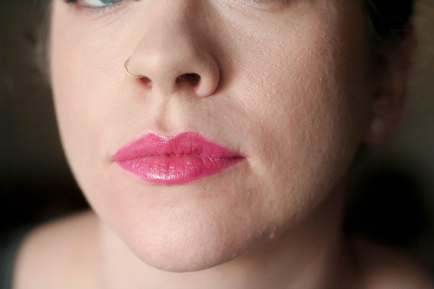 shame sheer vice lipstick palette swatch