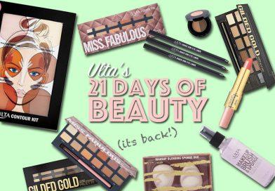 Ulta 21 Days of Beauty: Fall 2016