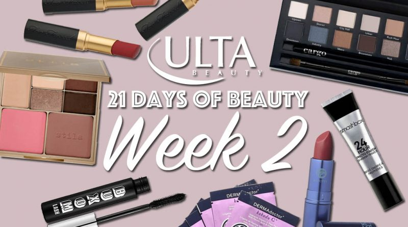 Ulta 21 Days of Beauty, Last Week of Sales!