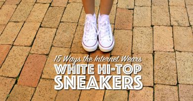 White Hi-Top Sneakers: 15 Inspirational Outfits